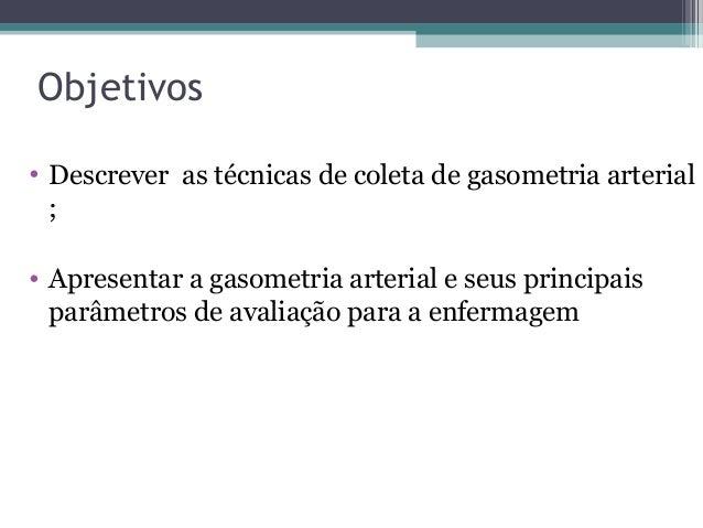 Exame de sangue gasometria arterial