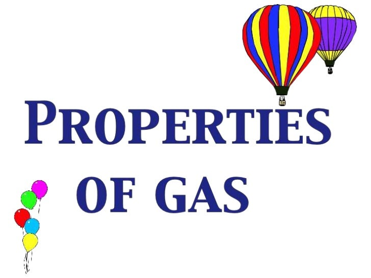 Gas properties  (teach)
