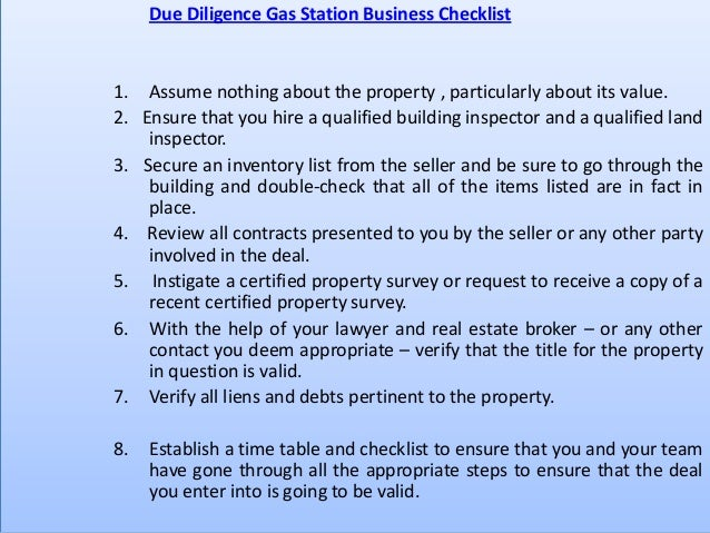 Business plan for a petrol station