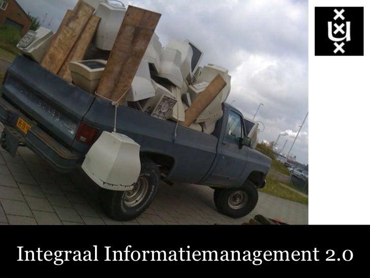 Integraal informatiemanagement 2.0
