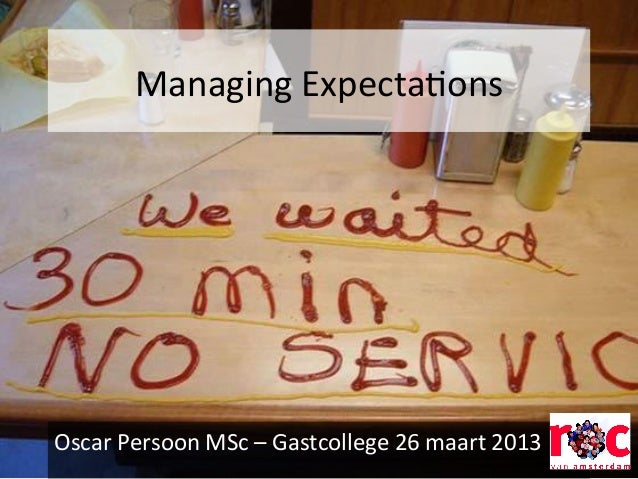 Gast college ROCvA mbo+ managing expectations