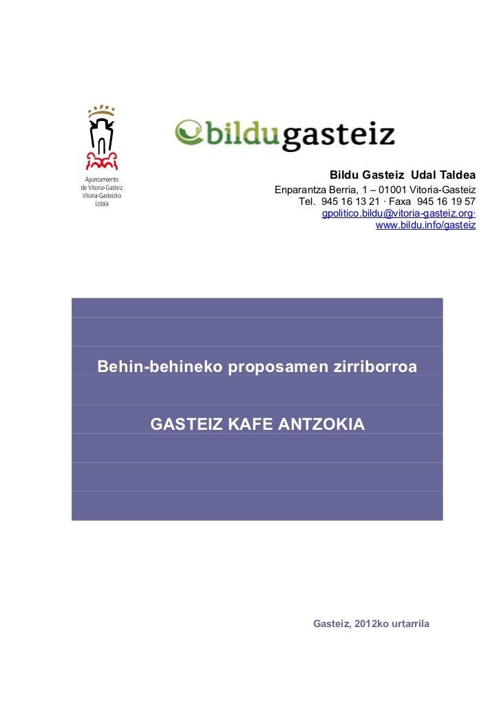 Gasteiz kafe antzokia_aurkezpena