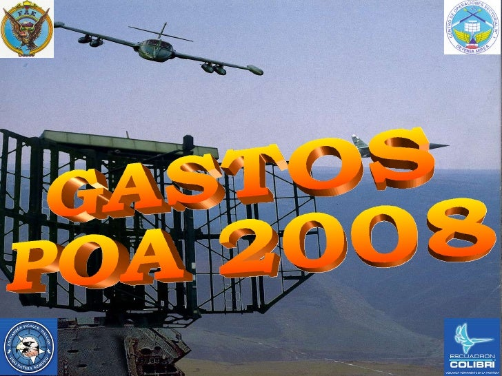 GASTOS  POA 2008