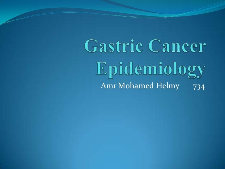 Gastric cancer presentation final