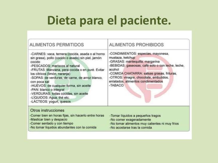 Gastritis powerpoint - Alimentos de una dieta blanda ...