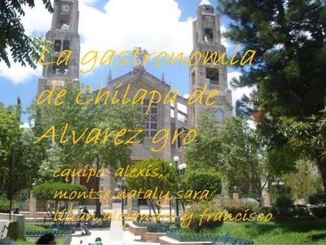  TurismoEl potencial turístico del municipiode Chilapa es muy grande; hasta hace pocotiempo, se veía con poco interés est...