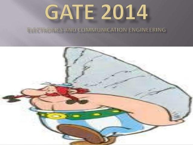 Gate 2014 ece