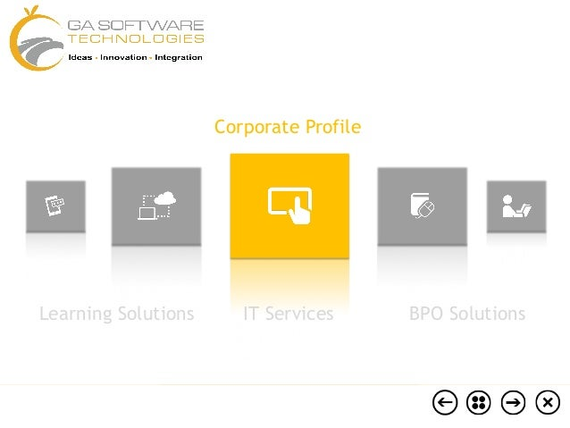 Corporate Profile  Learning Solutions  IT Services  BPO Solutions