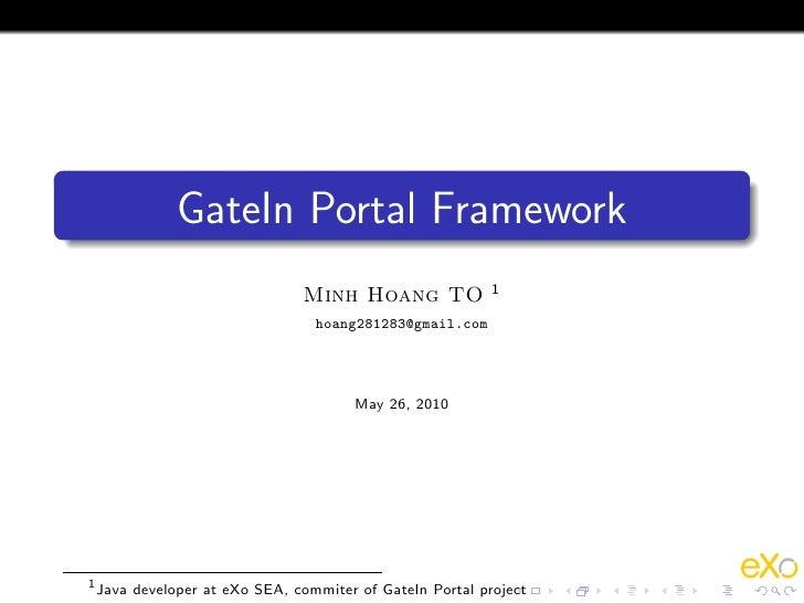 Gatein Presentation