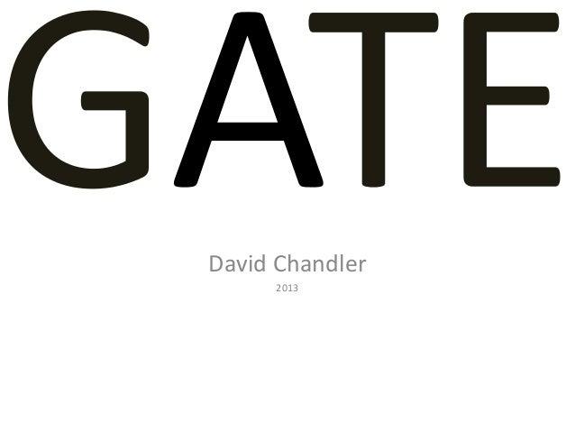 David Chandler2013