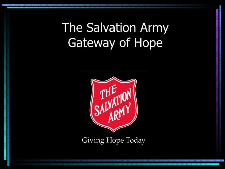 Langley Salvation Army Gateway Of  Hope  Power