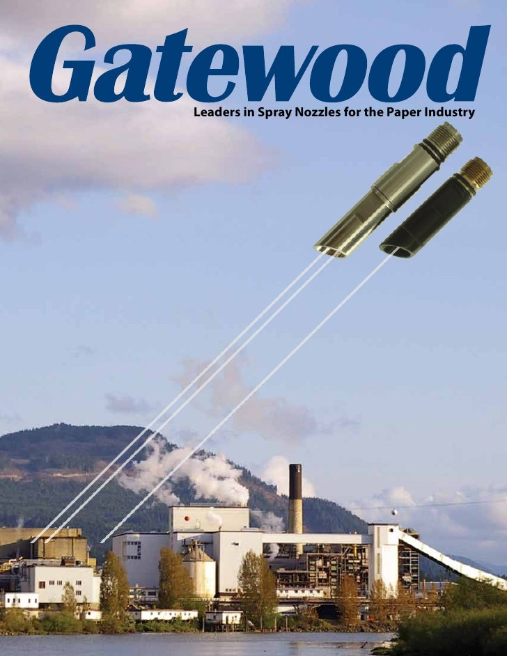 Leaders in Spray Nozzles for the Paper Industry