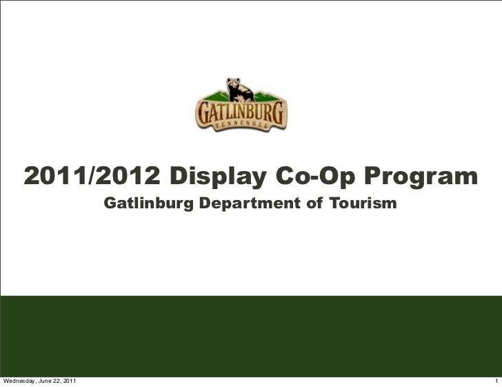 Gatlinburg 2011/12 FY Display (Banner) Advertising Co-Op Opportunity