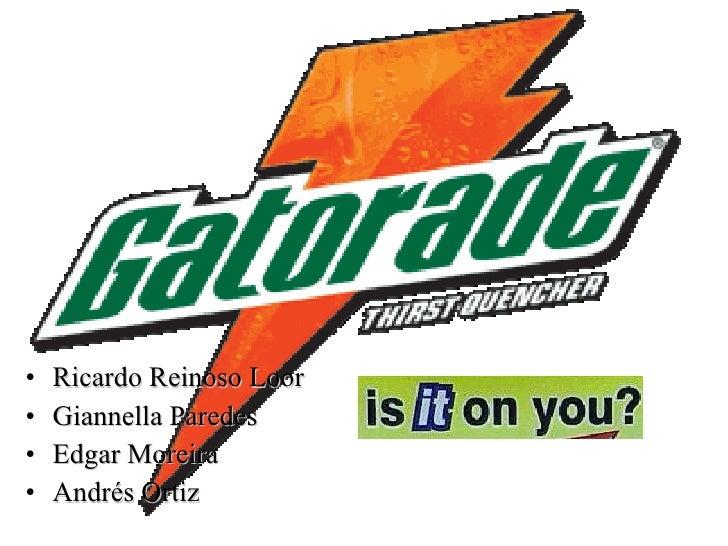 Gatorade thirstquencher