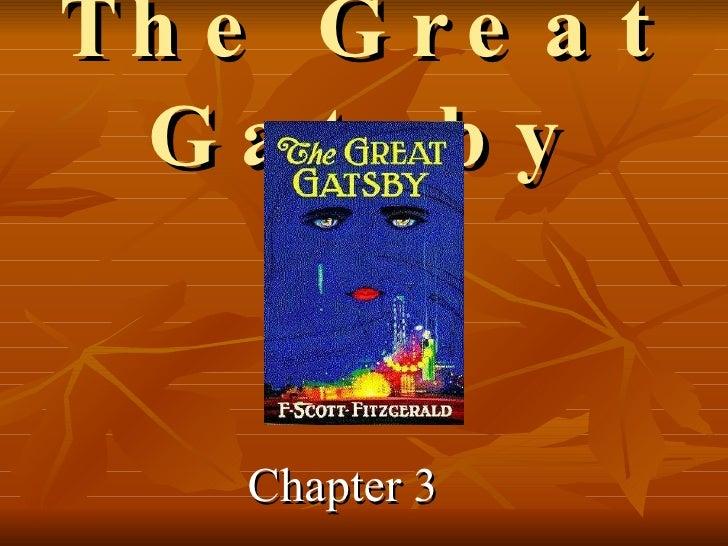 Gatsby ch 3
