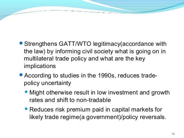 Define multilateral trading system