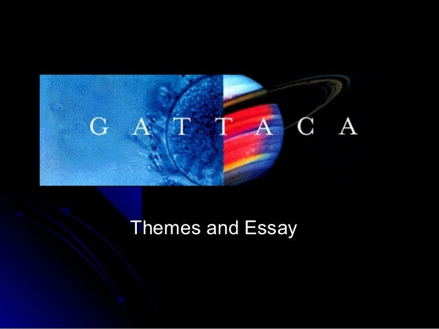 compare chrysalids and gattaca Compare chrysalids and gattaca essays and gattaca - character study task you  the dictionary definition of utopia is an imaginary island with gattaca vs the island .