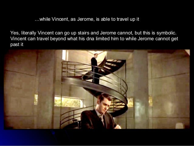 essays about gattaca The essay topic is although set in the not-too-distant-future, gattaca offers a warning to a contemporary audience the essay is part of the year 11 victorian curriculum and discusses.