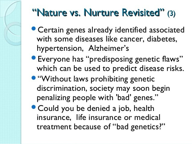 nature vs nurture worksheet Intelligence is based on nature and nurture: study finds your environment plays a significant role in how smart you are virginia university researchers studied twins one of whom was adopted.