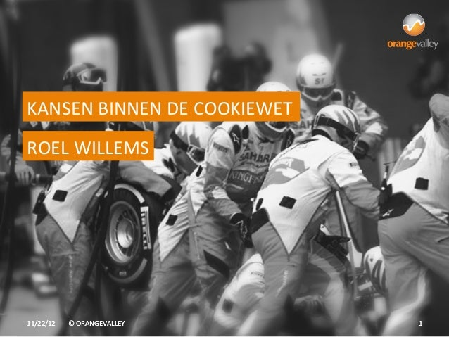 KANSEN BINNEN DE COOKIEWET ROEL WILLEMS 11/22/12    © ORANGEVALLEY       1