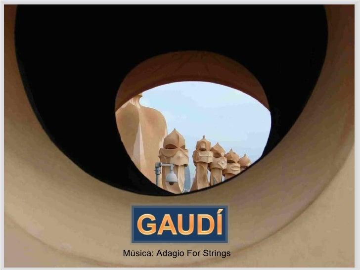 Música: Adagio For Strings