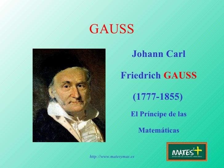 carl gauss essay