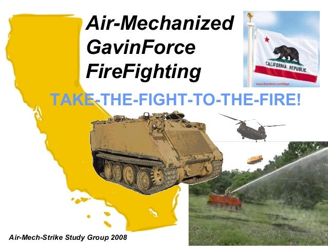 Air-Mechanized                    GavinForce                    FireFighting           TAKE-THE-FIGHT-TO-THE-FIRE!Air-Mech...