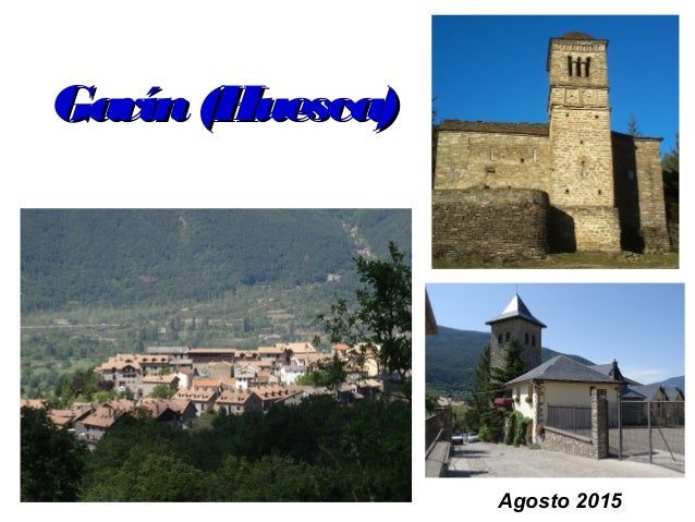 Gavín(Huesca)Gavín(Huesca) Agosto 2015