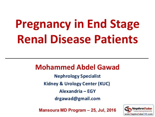 patients with end stage renal disease Renal failure, end-stage renal disease  as end-stage kidney disease,  providers to slow and treat their renal dysfunction patients in stages 4 and 5.
