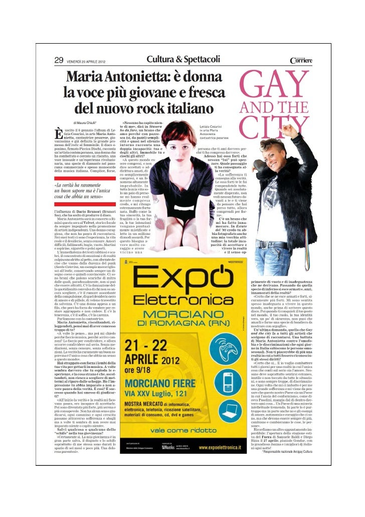 Gay and the City 20.04.2012