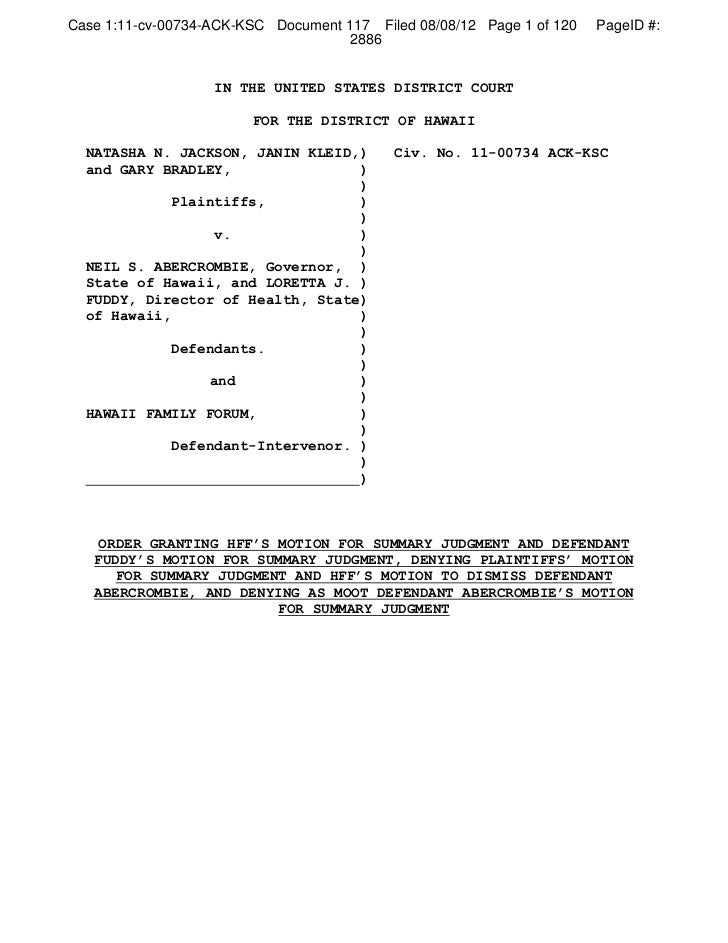 Case 1:11-cv-00734-ACK-KSC Document 117 Filed 08/08/12 Page 1 of 120   PageID #:                                     2886 ...