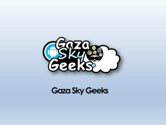 GazaSkyGeeks