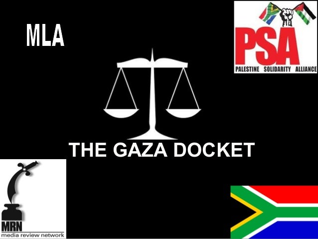 THE GAZA DOCKET