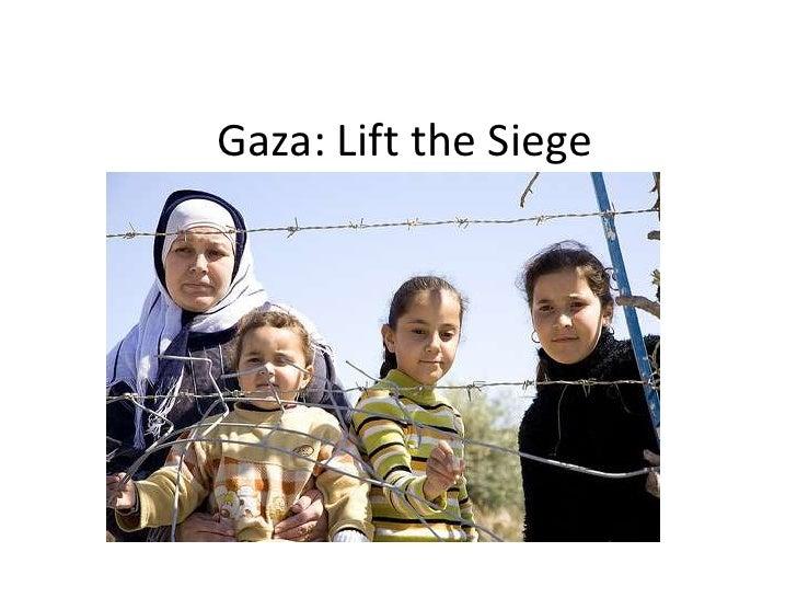 Gaza: Lift the Siege