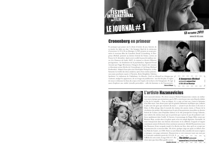 festival  international    dufilm le journal # 1© Photo Nicolas Guérin                                                    ...