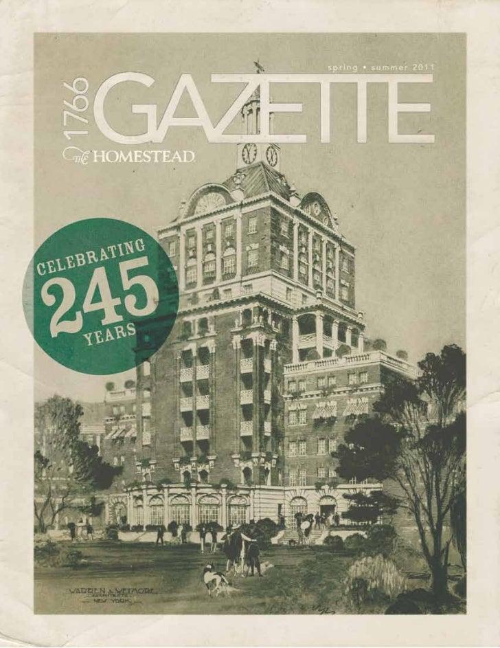 Gazette Spring Group 2011