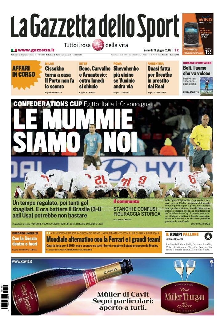 www.gazzetta.it                                                                                                           ...
