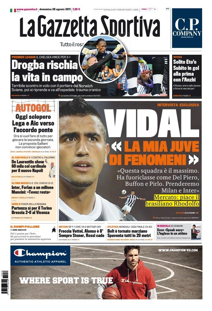 Gazzetta 28 8-2011