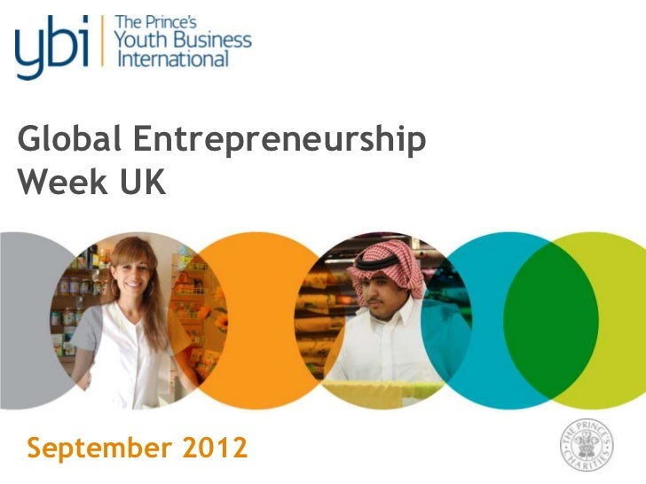 Global EntrepreneurshipWeek UKSeptember 2012