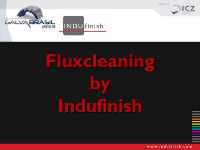 Fluxcleaning by Indufinish