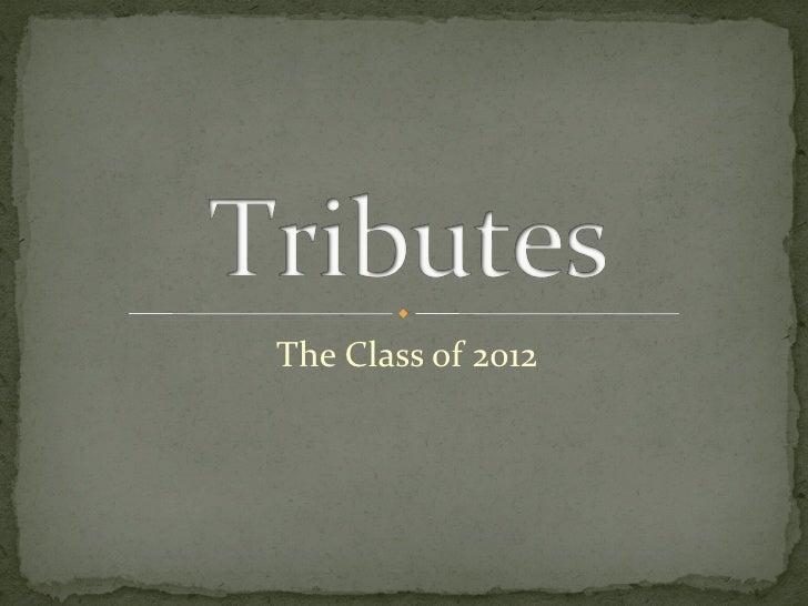Gba senior tributes 2012 pdf