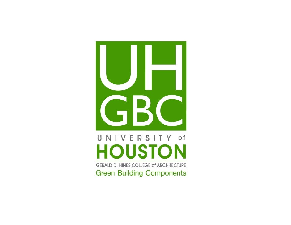 UH Green Building Components - Schipulcon 2011