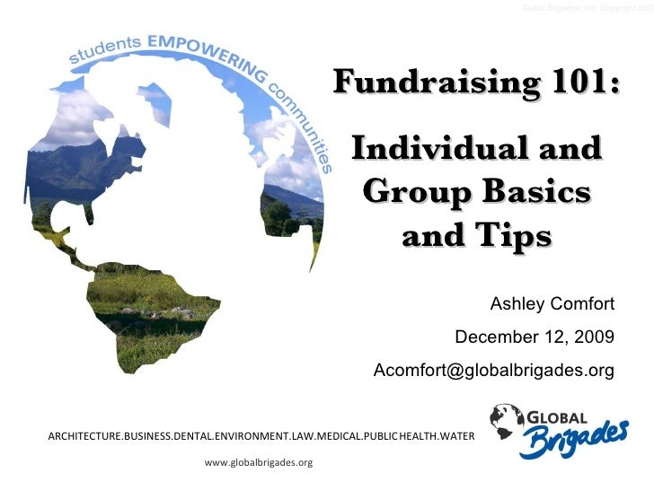 Gb Fundraising Group And Individual