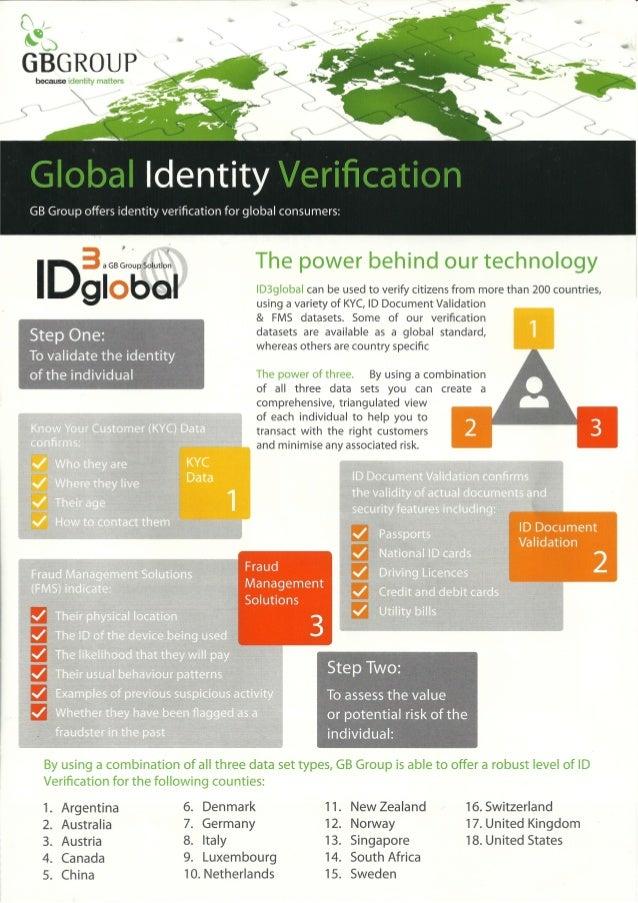 Gb group global identity verification 1
