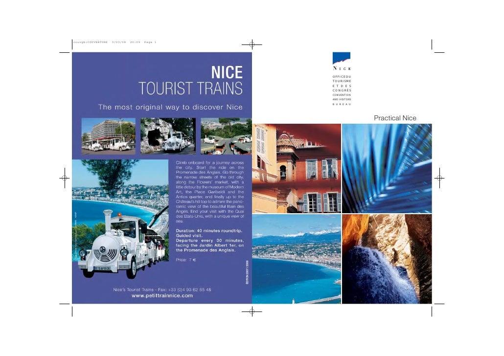OFFICE DU TOURISME E T D E S CONGRÈS CONVENTION AND VISITORS B U R E A U                    Practical Nice