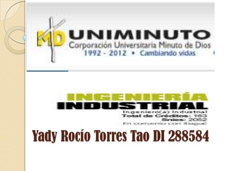 Yady Rocío Torres Tao DI 288584