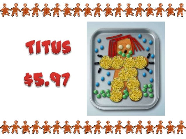 More Expensive Gingerbread Men