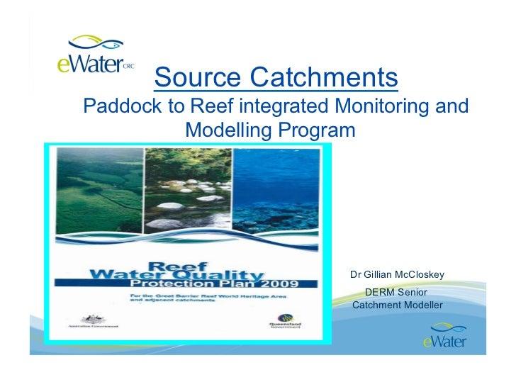 Gbr catchment scale modelling, gillian mc closkey