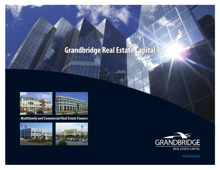 Multifamily and Commercial Real Estate Finance                                                      www.gbrecap.com