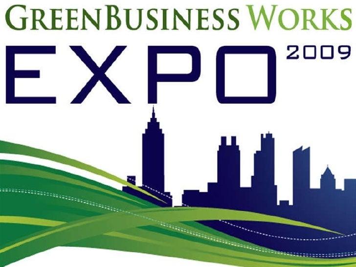 Georgia Business Works Expo, LEED, Carbon Footprint, Green Companies